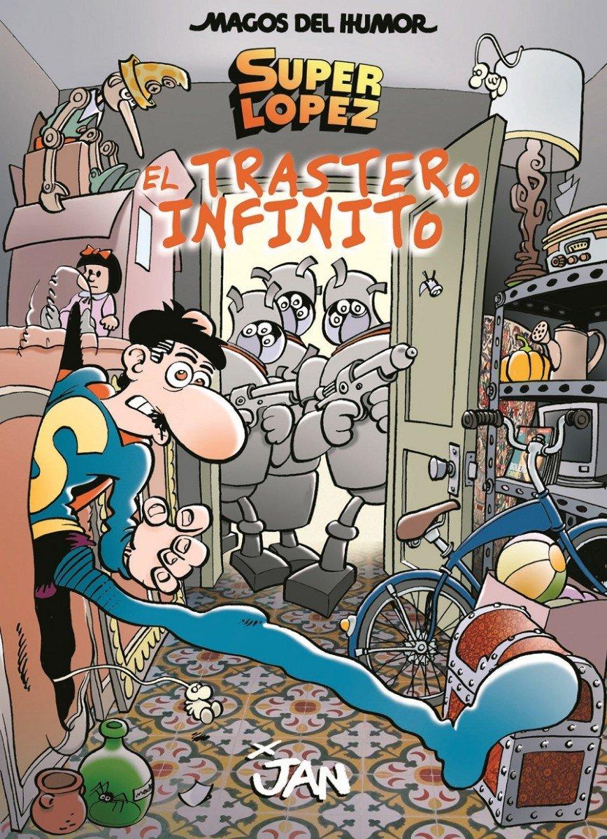 Superlópez. El trastero infinito Magos del Humor 181: Amazon ...