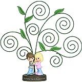 Precious Moments Couple Under Family Tree Photo Holder Figurine