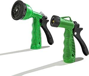 Aqua Plumb Combo Hose Nozzle Set - Weatherproof and Rust Proof Set of 2 Nozzles