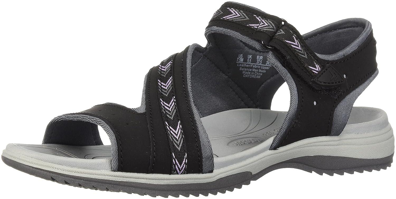 Dr. Scholl's Shoes Women's Daydream Slide Sandal B0767V2KD7 8.5 B(M) US|Black Action Leather