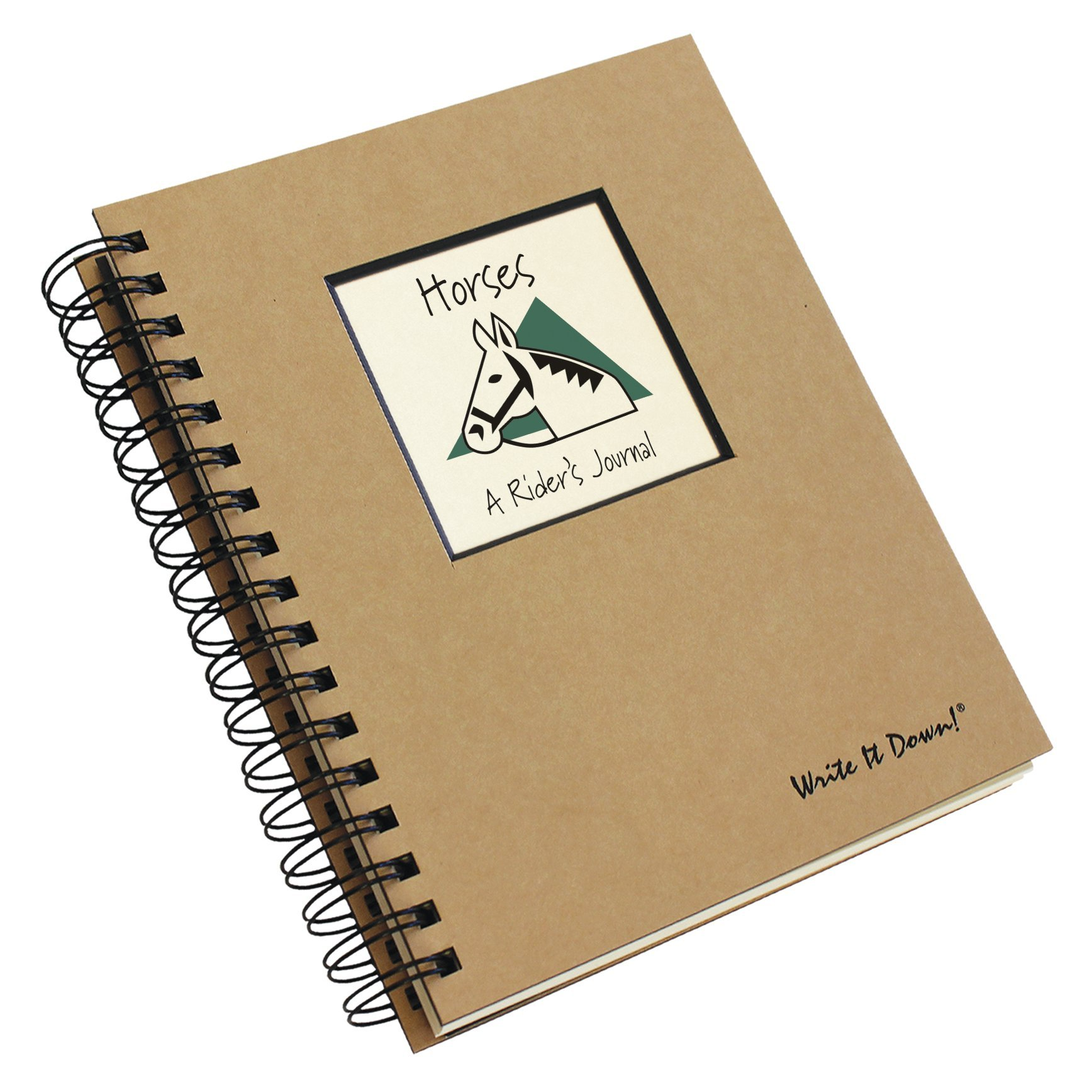 Horses, A Rider's Journal (Natural Brown)