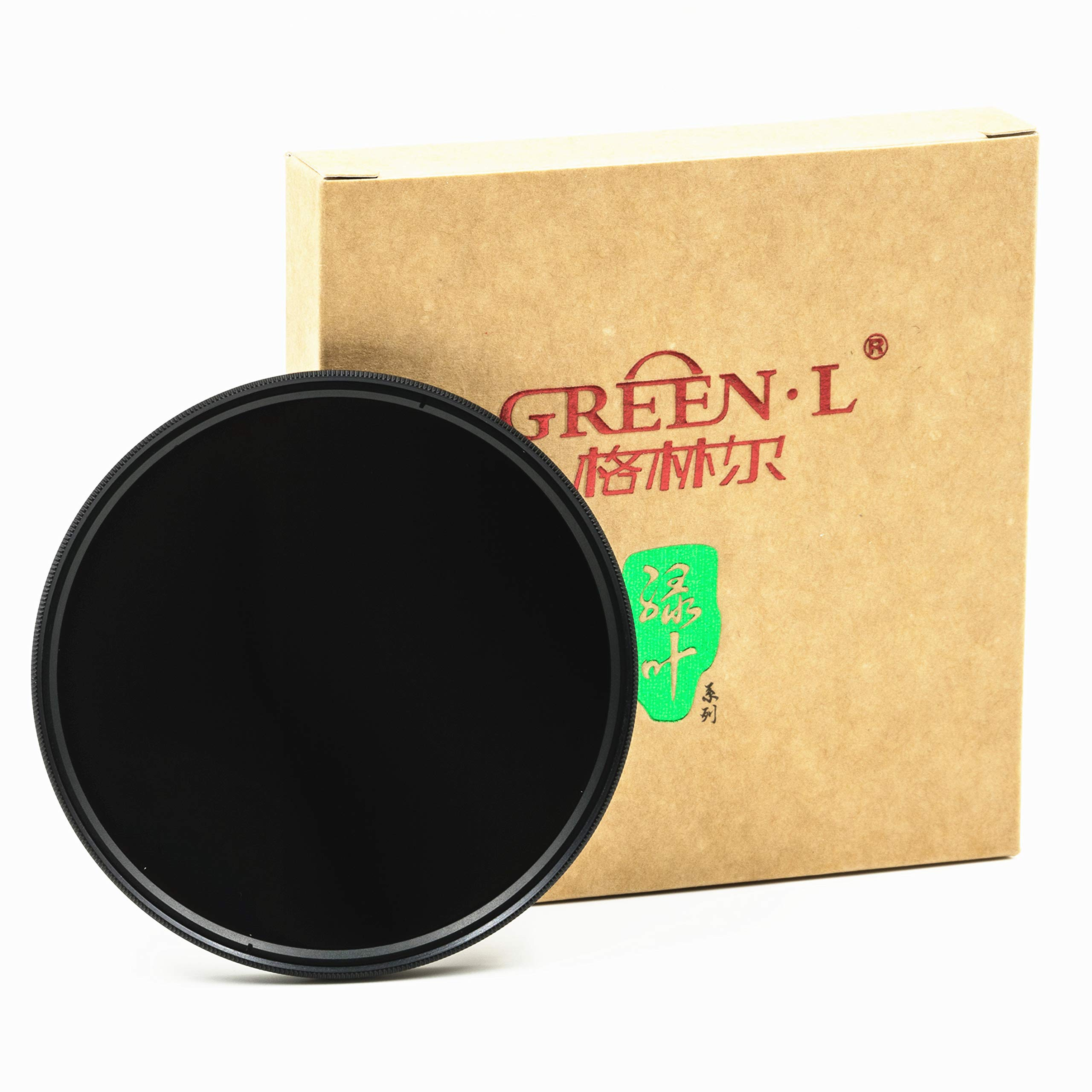 GREEN.L 52mm Neutral Density ND1000 Lens Filter Neutral Density Optical Glass 10 stop ND 1000 52 mm by Green-L
