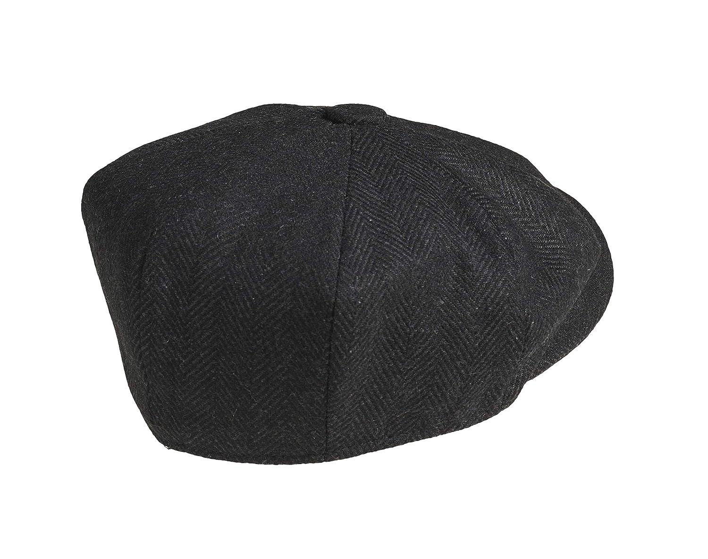 """Peaky Blinders in 100/% lana berretto a 8/spicchi piatto in stile /""""Newsboy/"""""""
