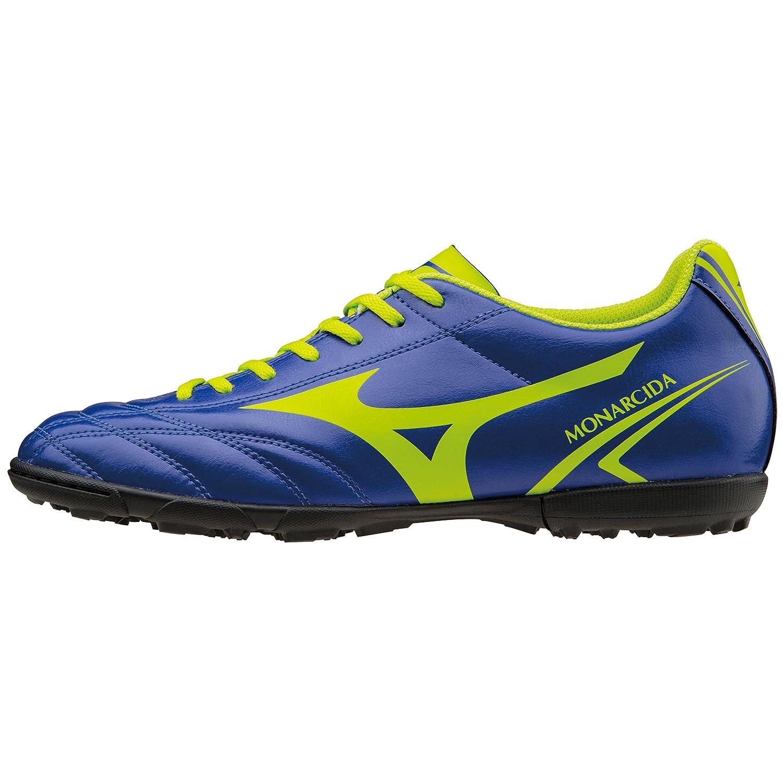 Mizuno Zapatillas de fútbol sala Monarcida AS P1GD162437 43 EU|Azzurro Verde