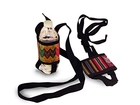 13730ebc4797 One Dozen Water Bottle Holder Wholesale 12 Pack Assorted Peru Cotton Fair  Trade *000589*