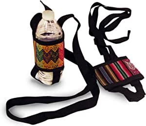 One Dozen Water Bottle Holder Wholesale 12 Pack Assorted Peru Cotton Fair Trade *000589*