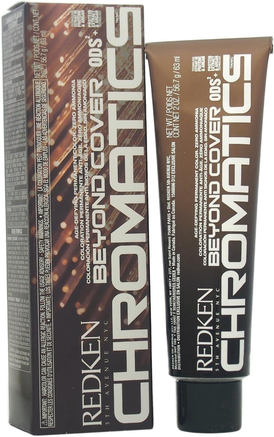 Chromatics 4Br/4.56 Beyond Cover 60 ml Redken coloración para el cabello