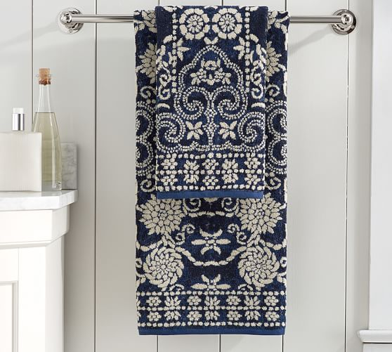 Indah Jaquard Towels | Pottery Barn