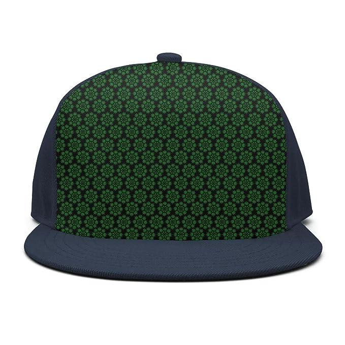 fb3f81a4432 Trum Namii Unisex Personalized Baseball Cap Cannabis Leaf Marijuana Weed Baseball  Cap for Women