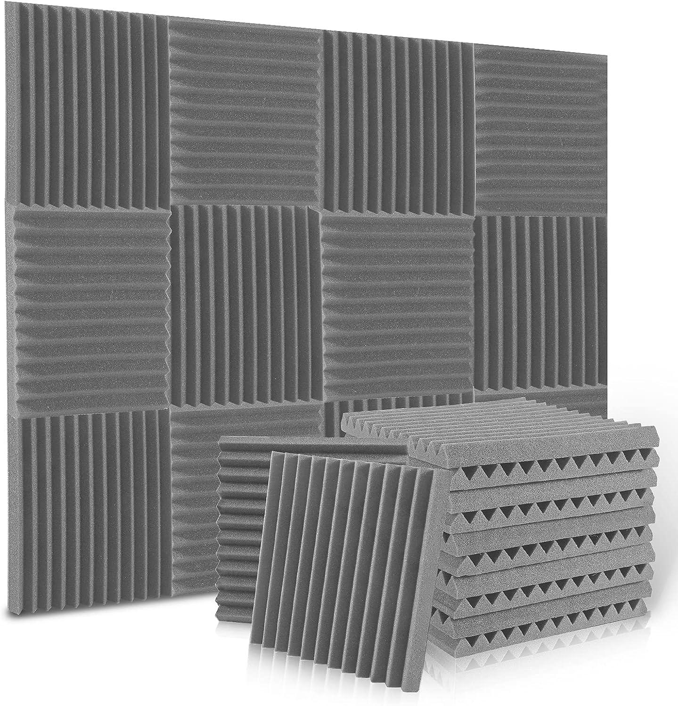 12 Pack Acoustic Panels, ALPOWL Acoustic Foam Panels 1