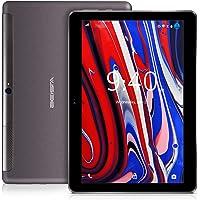 Tablet 10 Pulgadas 4G LTE WiFi BEISTA-Android 9.0 Tablets,Ocho núcleos,4GB RAM,64GB ROM,2Ghz CPU,Cuerpo de Metal Ultrafino,Pantalla de Vidrio Templado HD,GPS-Oro