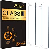 Ailun Screen Protector Compatible for iPhone 8 plus/7 Plus/6s Plus/6 Plus-5.5 Inch 3Pack 2.5D Edge Tempered Glass…