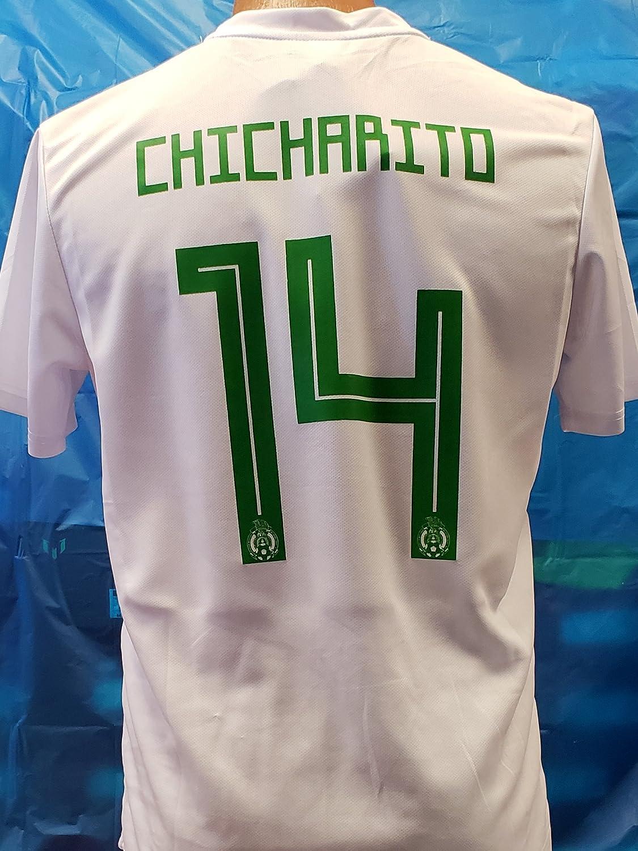 新しい。メンズメキシコ国立チーム2018 Generic ChicharitoジャージサイズS B07D6FHXHR