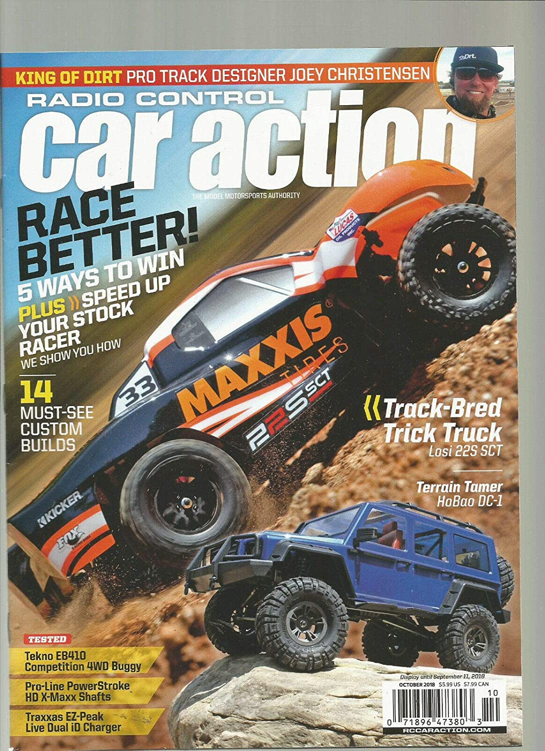 Rc Car Action >> Amazon Com Radio Control Car Action Magazine October 2018