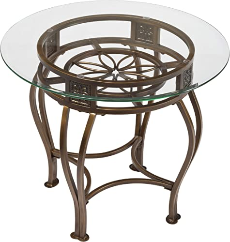 Hillsdale Scottsdale Metal End Table