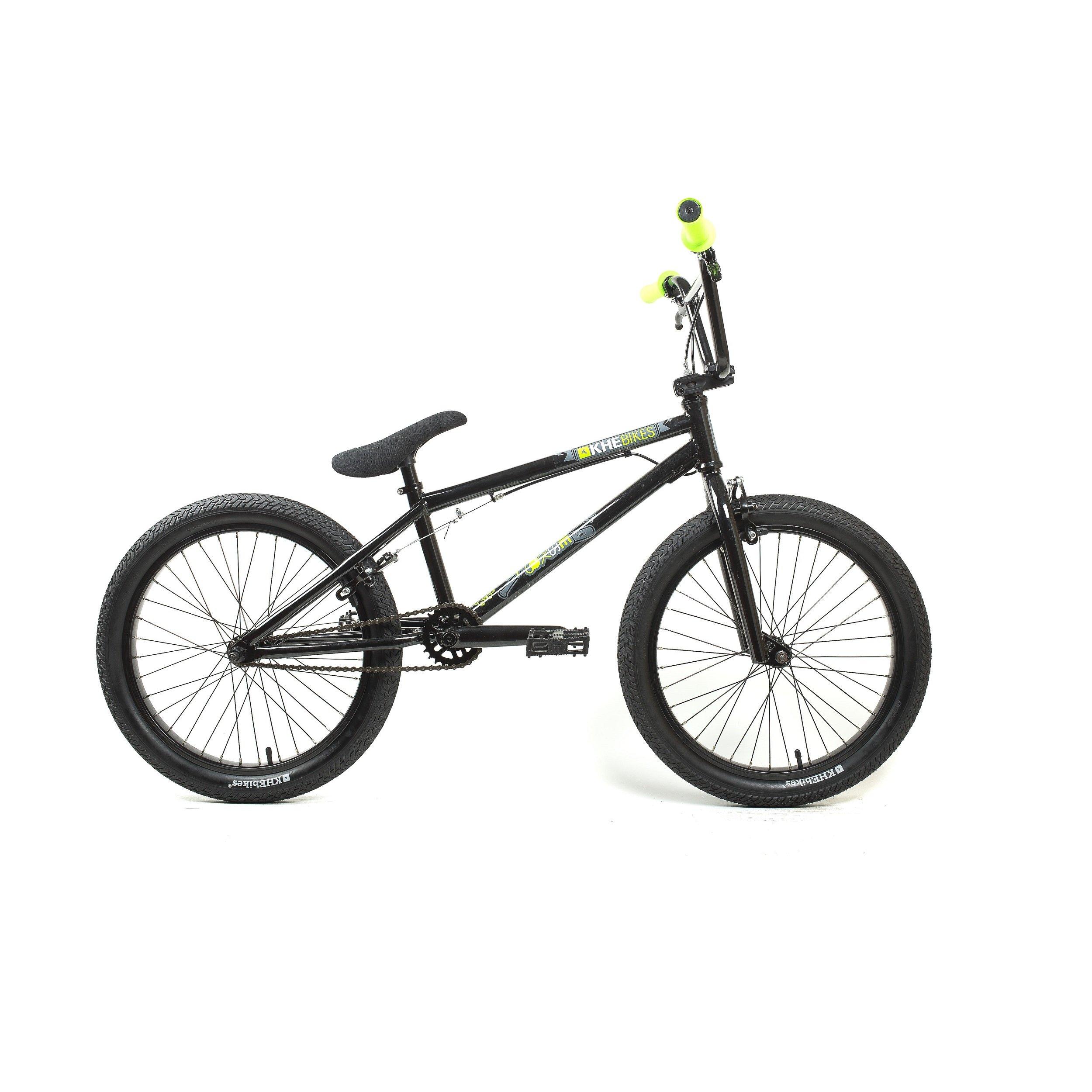 KHE Bikes Park Two Freestyle BMX Bicycles, Black by KHE Bikes