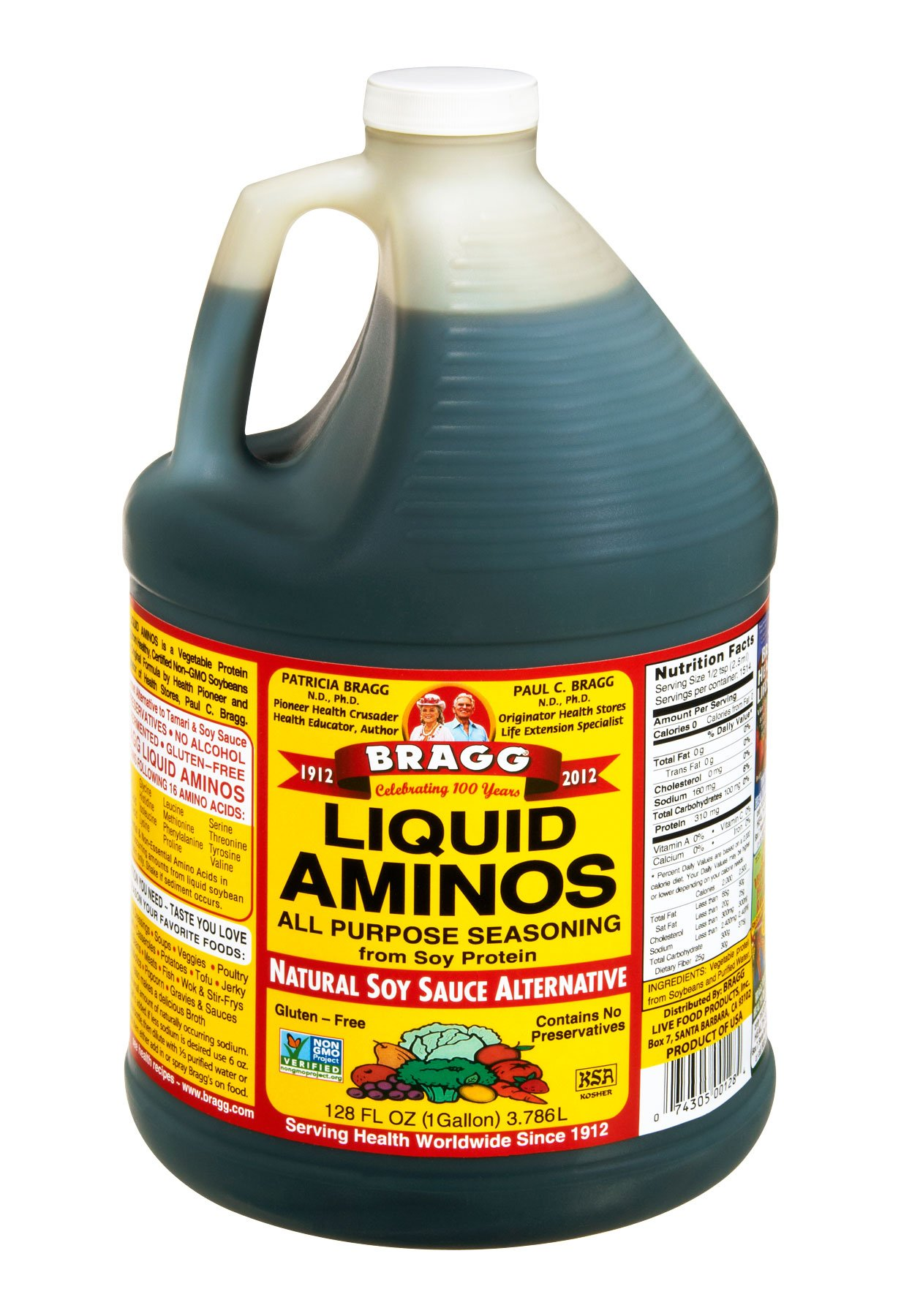 Bragg Liquid Aminos 1 Gallon by Bragg