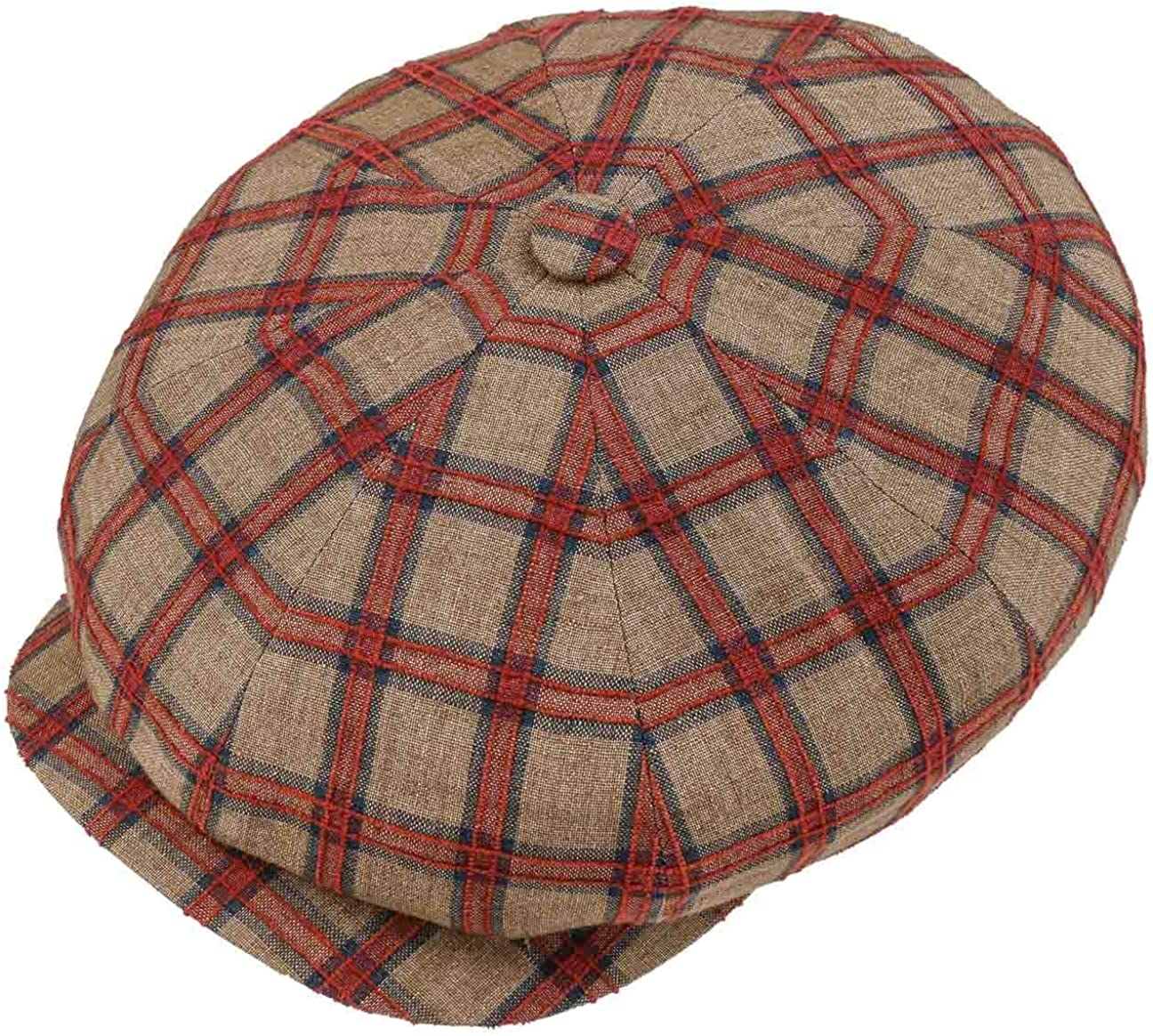 1920s Men's Hats – 8 Popular Styles Stetson Hatteras Large Checks Flat Cap Men - Made in The EU $92.37 AT vintagedancer.com