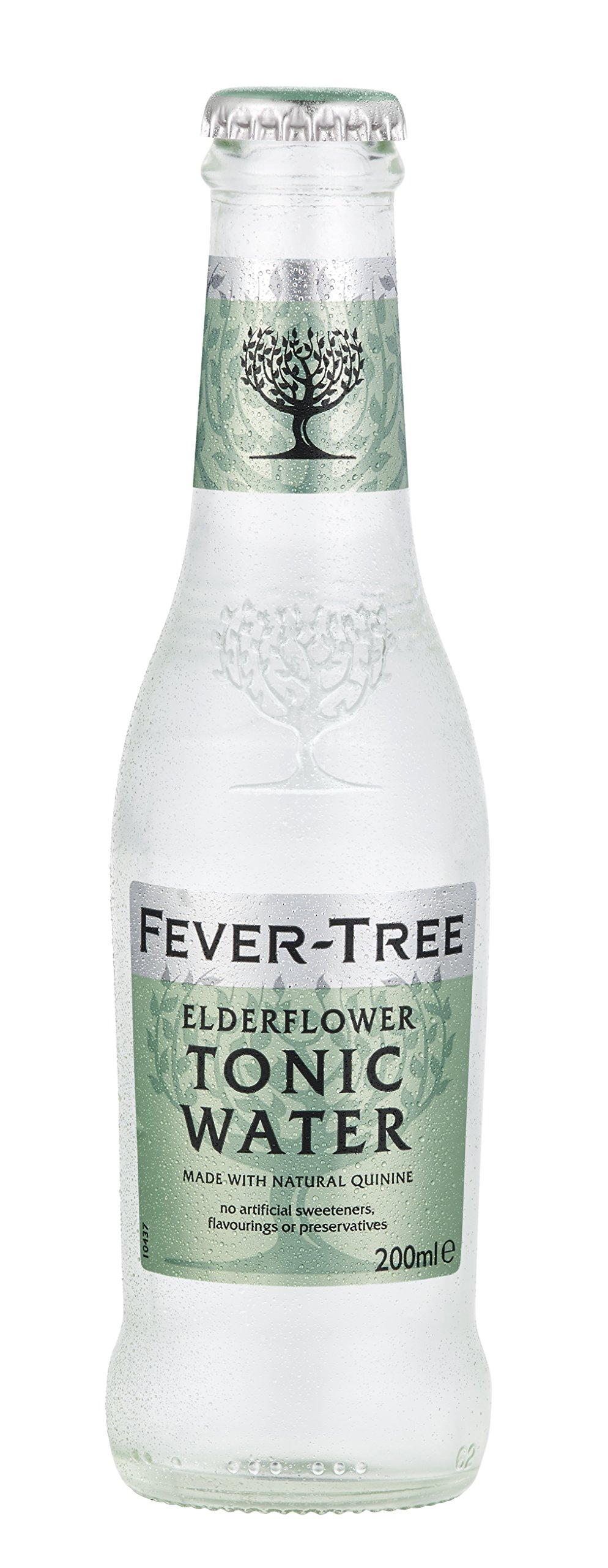 Fever-Tree Elderflower Tonic Water, 6.8 Ounce (Pack of 24)