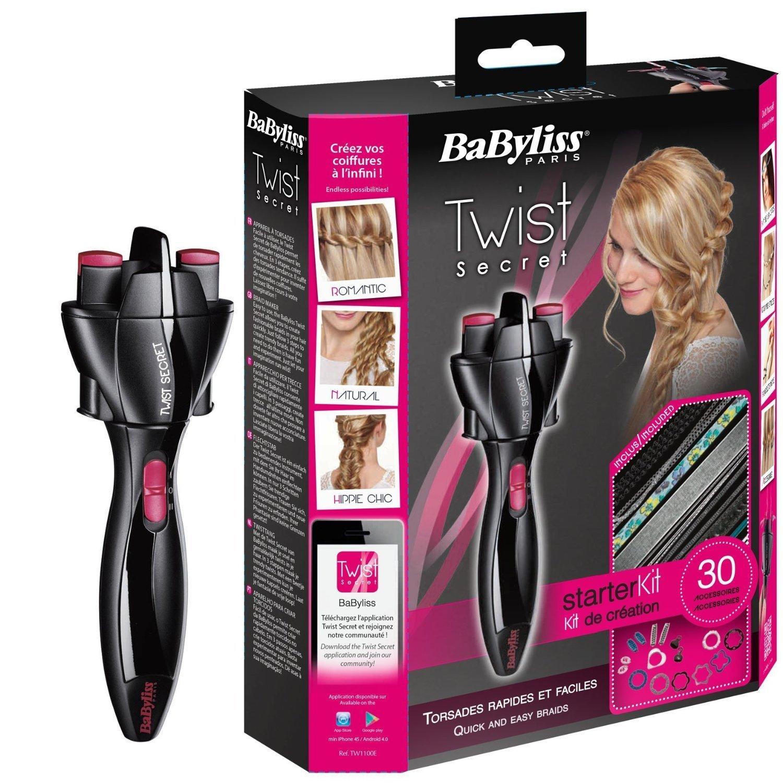 BaByliss - Twist Secret + Kit di creazione 30 accessori + Kit Grungy TW1100E