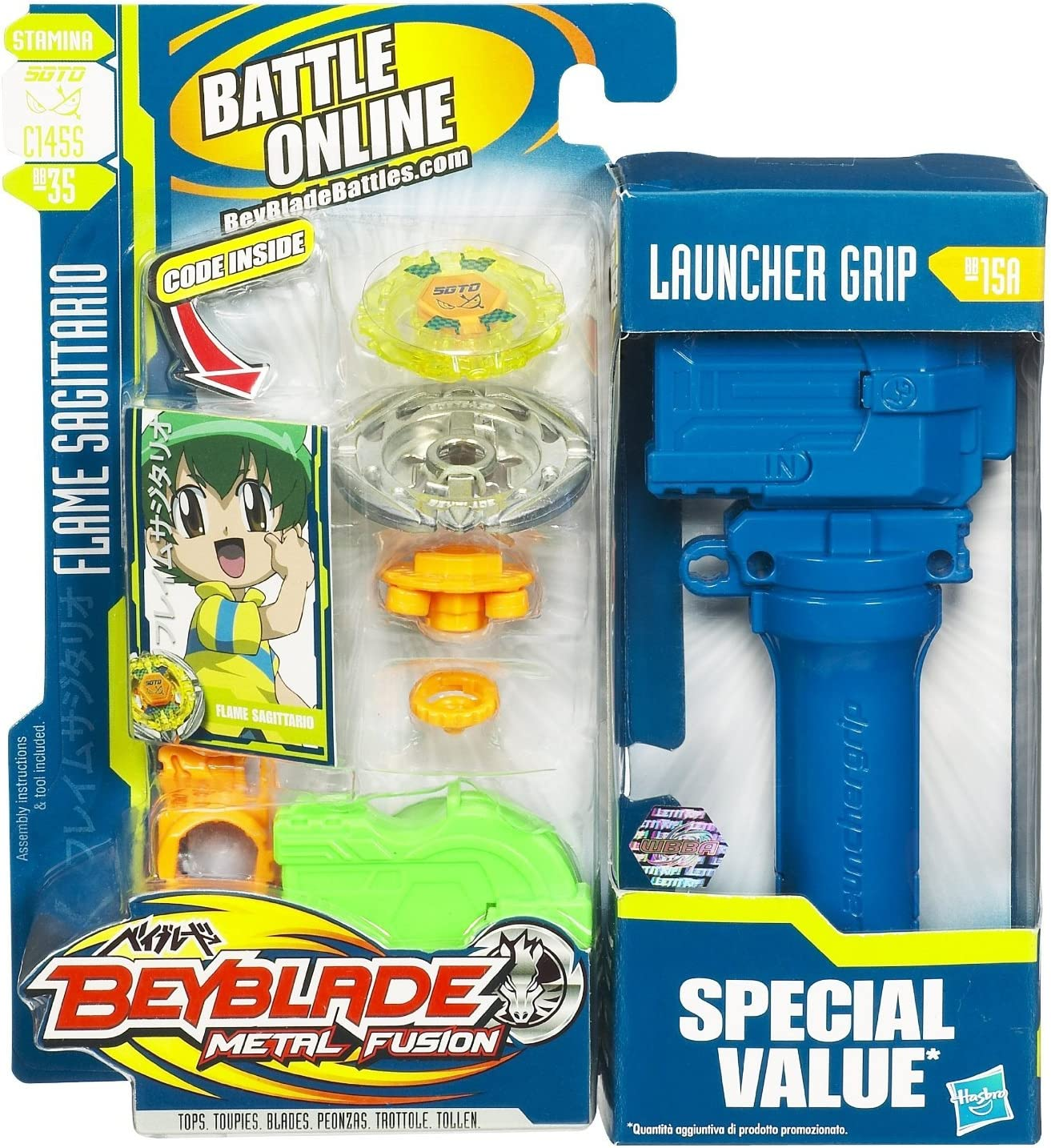 Beyblade Metal Fusion Value Pack by Beyblade: Amazon.es: Juguetes ...