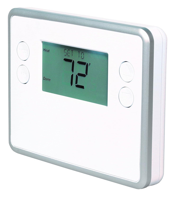 GoControl Thermostat, Z-Wave, Battery-Powered, Works with Alexa - -  Amazon.com
