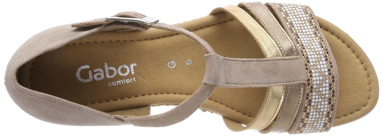 Gabor (Daino Damen Comfort Sport RiemchenSandale, Mehrfarbig, Mehrfarbig (Daino Gabor K. Grata) 7f1a86