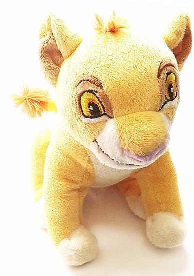 Amazon.com: Disney El Rey León bebé Simba Plush: Health ...