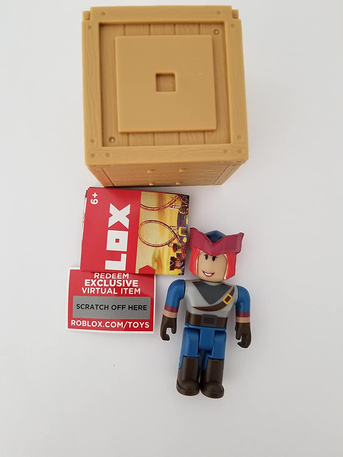 Roblox Figurines And Accessories With Free Redeemable Exclusive Virtual Item