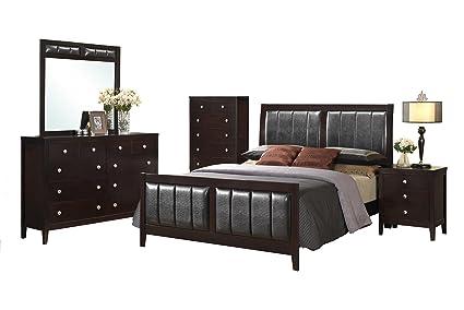 Merveilleux Cambridge Walden 5 Piece Suite: Queen Bed, Dresser, Mirror, Chest,  Nightstand
