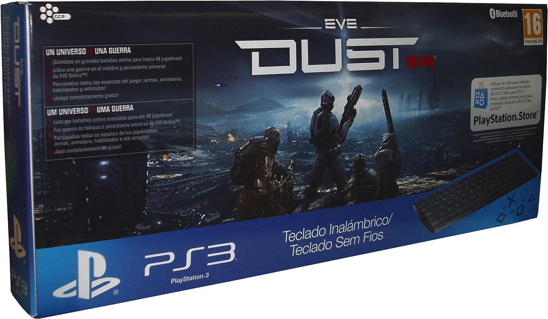 Sony - Teclado Bluetooth Dust 514 Y Voucher (PS3): Amazon ...