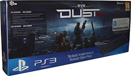 Sony - Teclado Bluetooth Dust 514 Y Voucher (PS3): Amazon.es ...