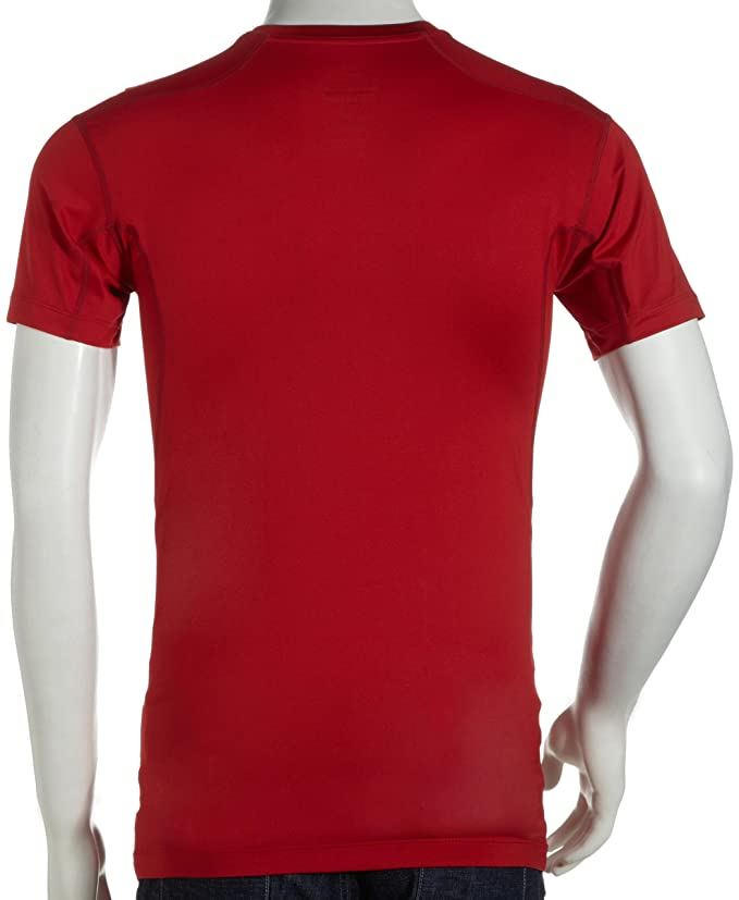 85385831e5d Amazon.com  Nike Mens Pro Combat Tight Compression Short Sleeve Tee Red  Size XXL  Clothing