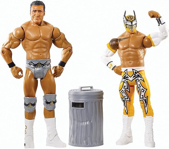 WWE - Paquetes De Batalla Serie 31 Alberto Del Rio & Sin Cara Figuras: Amazon.es: Juguetes y juegos