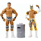 WWE Battle Pack Series #31 - Sin Cara vs. Alberto Del Rio with Trash Can Action Figures Two-Pack