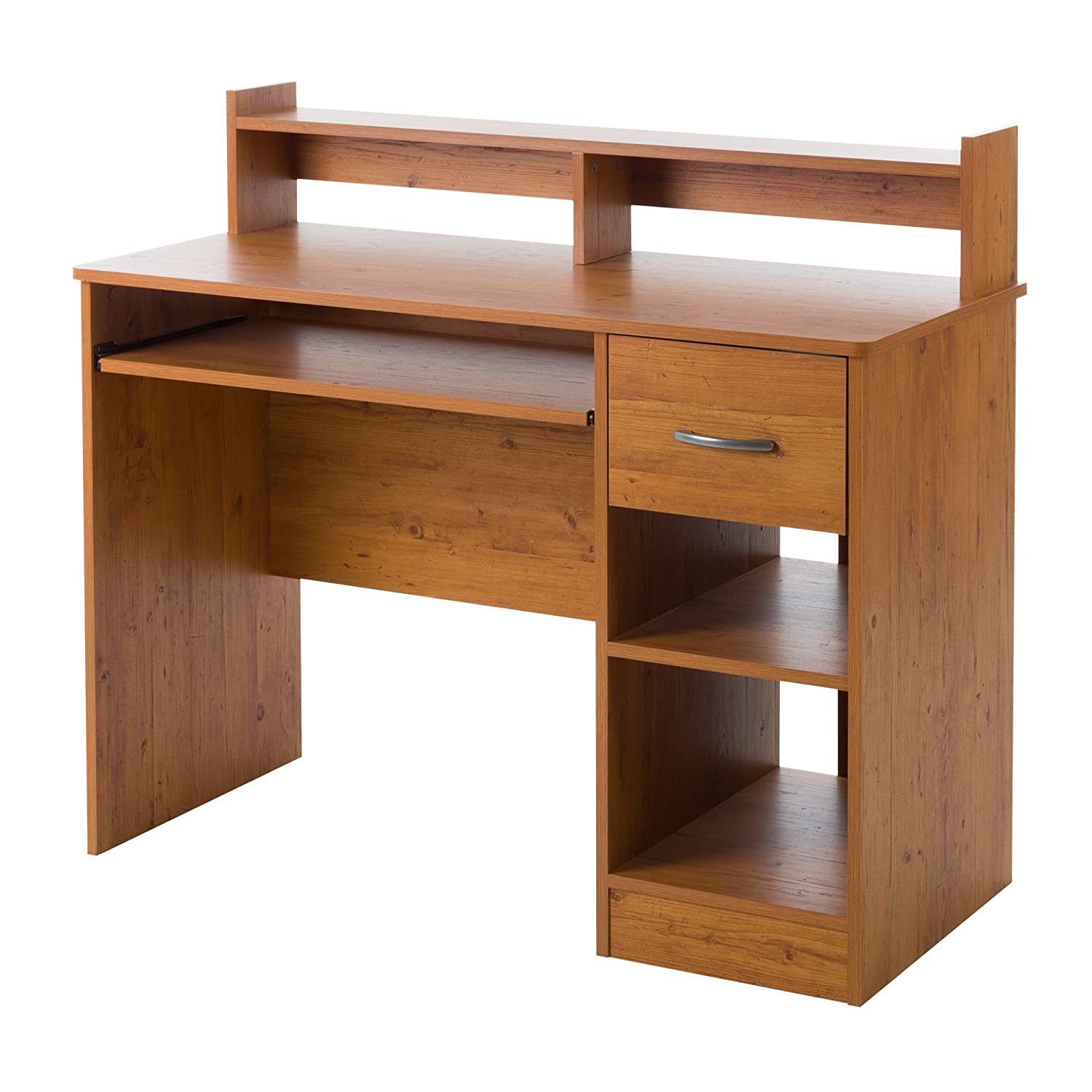 Amazon South Shore Axess Desk Country Pine Kitchen Dining