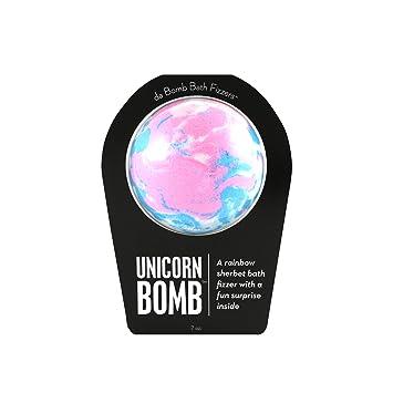 Amazon.com: Bomba de unicornio Da Bomb, rosa/azul/blanco ...