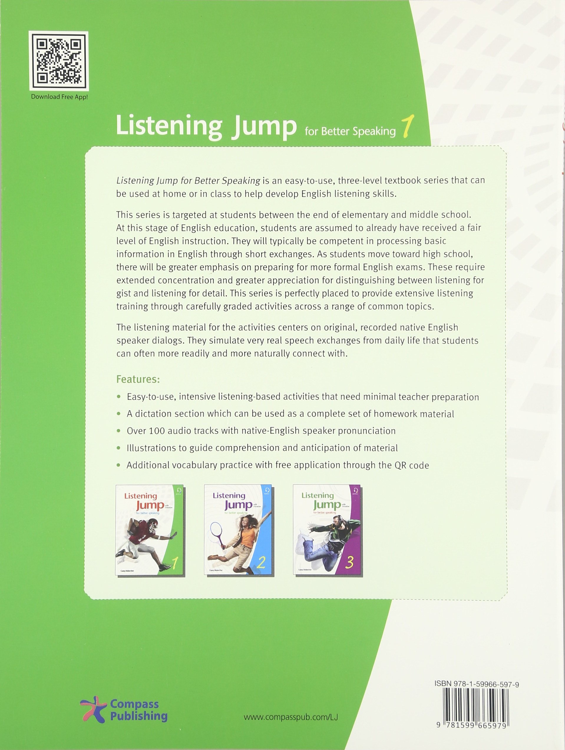Listening Jump 1 : Student's Book: Casey Malarcher, Randy Lewis
