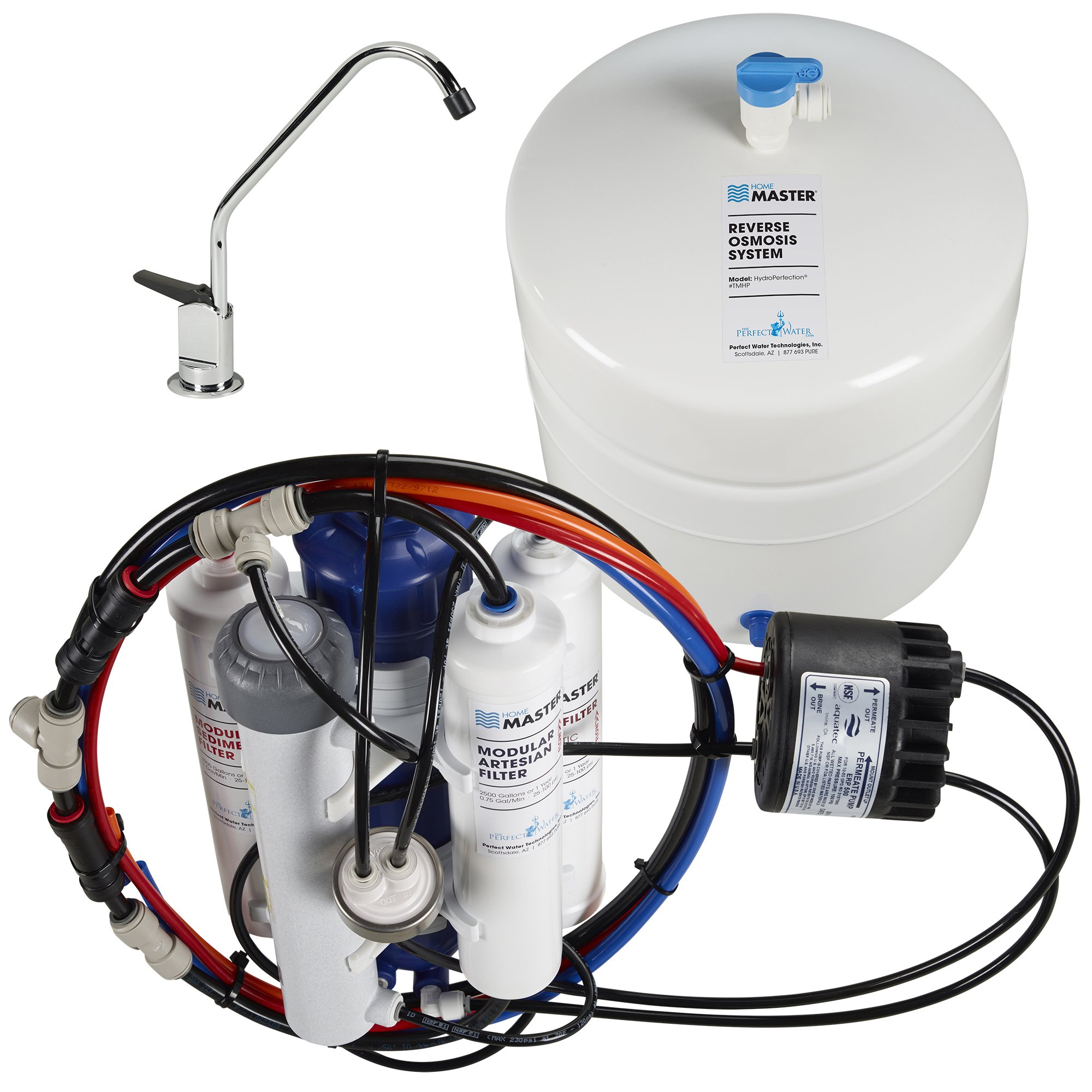 Home Master TMHP HydroPerfection Undersink Reverse Osmosis Water Filter System by Home Master (Image #5)