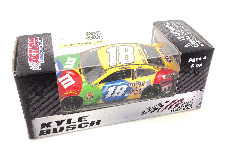 Lionel Racing Kyle Busch 2019 M/&Ms NASCAR Diecast Car 1:64 Scale