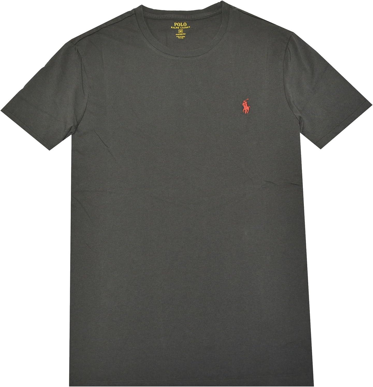 Polo Ralph Lauren para hombre cuello redondo firma polo - negro ...