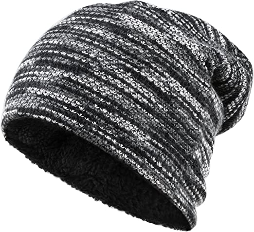 Adult Skull Cap Beanie Hello Lovely Knitted Hat Headwear Winter Warm Hip-hop Hat