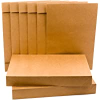 Hallmark Shirt Size Gift Boxes (Pack of 5; Kraft Brown) for Christmas, Hanukkah, Holidays, Birthdays, Father's Day