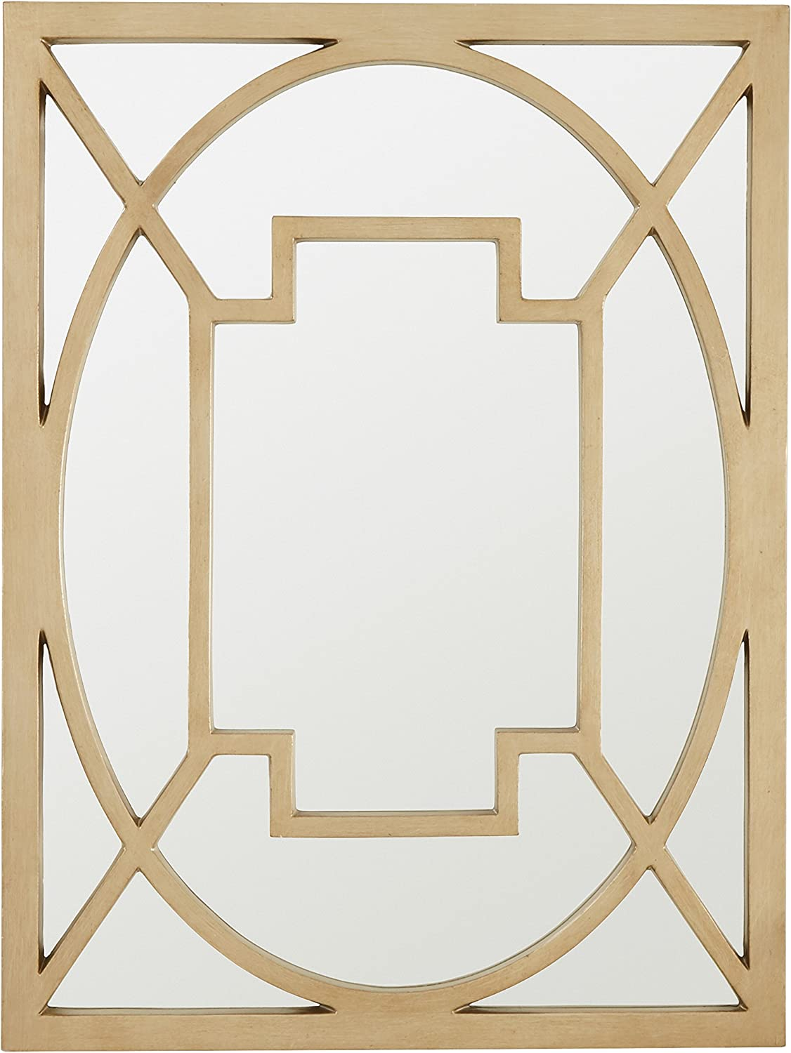 Amazon Brand – Stone & Beam Wall Decor Mirror, 30
