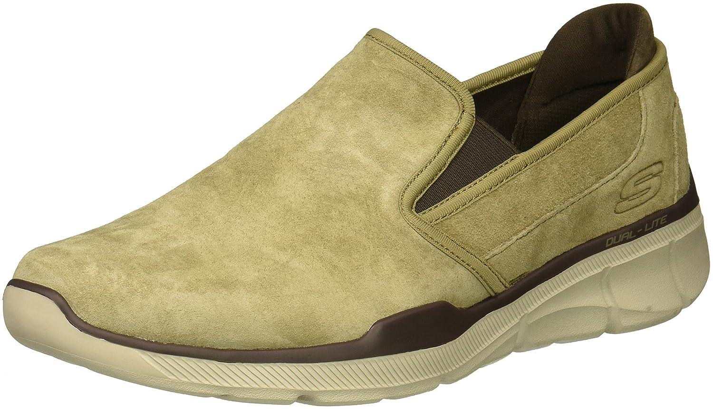 Skechers Equalizer 3.0-Substic, Zapatillas Sin Cordones para Hombre 42 EU|Marrón (Brown Brn)