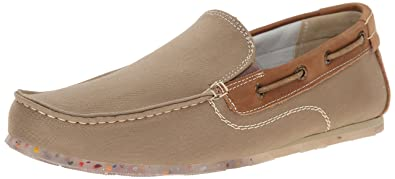 e427ab865081d GBX Men's Harpoon Moc Toe Slip On Casual Loafers