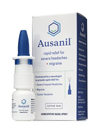 Amazon Ausanil Nasal Spray For Rapid Relief Of Severe Headaches