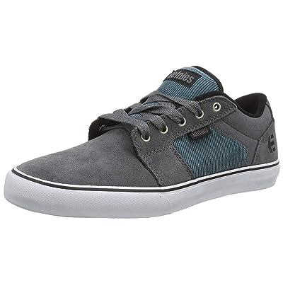 Etnies Men's Barge LS Skate Shoe, Grey/Blue   Shoes