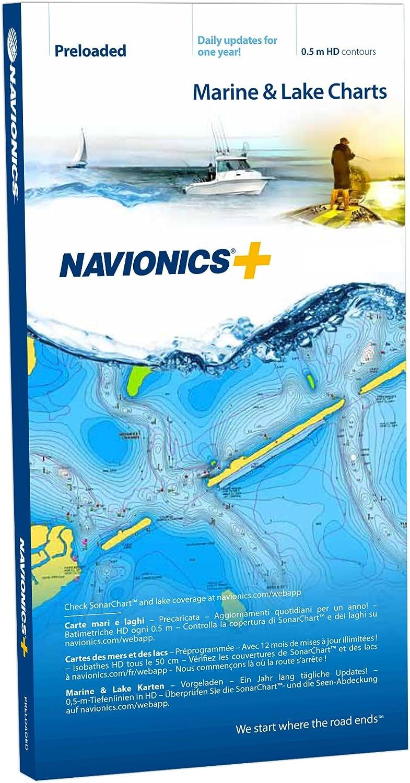 Navionics MicroSD Navionics Plus 46XG Europa Central y Occidental: Amazon.es: Electrónica