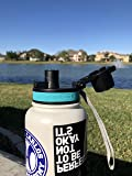 Hydro2Go Wide Mouth Lid Replacement for Hydro Flask 16, 18, 20, 32, 64 oz Sports Water Bottle. Compatibility Most Waterbottle with 2.2 in Mouth.One Button Release Cap for Hydroflsk